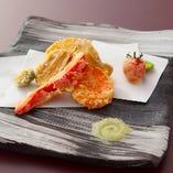 野菜の天ぷら盛り合わせ