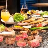 ◆GoToEatポイント利用対象◆選べる特典付全8品 阿蘇あか牛のステーキが入った贅沢コース 2時間飲み放題