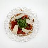 冷やしトマト-バルサミコソース-