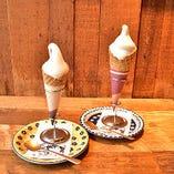阿蘇小国ジャージー牛乳ソフトクリーム