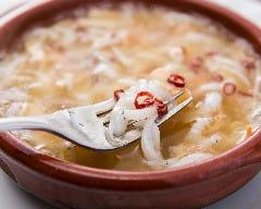 白魚のオリーブオイル煮