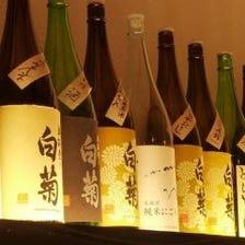 日本各地の銘酒をご用意