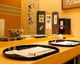 日本酒、焼酎の品揃えは酒通も唸るほどの銘酒揃い。