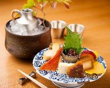 寿司店という枠にとどまらぬ料理