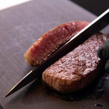 厳選肉・旬素材を味わう珠玉のコース
