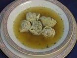 ペリメニ アジーカスープ