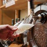 飲み放題がパワーアップ!樽生スパークリングとワイン10種も追加