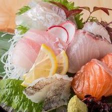 今朝獲れ鮮魚をご堪能!