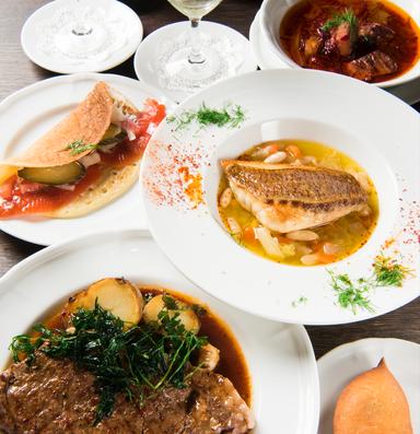 ロシアレストラン スンガリー 新宿三丁目店 コースの画像