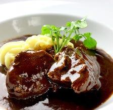 【オススメ】牛ほほ肉の赤ワイン煮