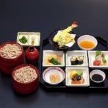 「うたげ」 季節の食材をたっぷり詰込んだランチセット1,980円