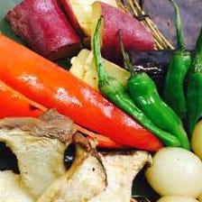 ■四国各地の新鮮野菜を提供