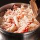 40分かけて炊き上げる、雲丹や蟹をふんだんに使用した釜飯。