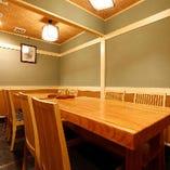 テーブル個室(~10名様)