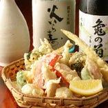 【蕎麦前】 日本酒や焼酎に合うつまみも多数ございます