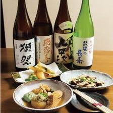 和食の味を引き立てる和風のお酒