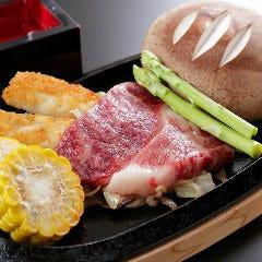 鹿児島県黒毛和牛とてんけいこ椎茸のステーキ