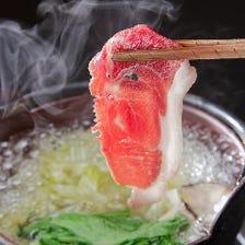 グランプリ獲得の猪肉&多彩なお鍋