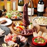 上質で稀少な肉料理や人気料理を楽しめる宴会コース2,000円〜
