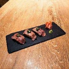 名物!南島原牛炙り肉寿司