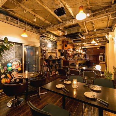 バースデーサプライズ×貸切ダイニング 渋谷 cafe croix 店内の画像