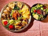 菜七彩オードブル 野菜サラダ付き