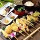 素材に拘った、自慢の天ぷら盛り合わせ5種・7種とございます。