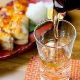 全国各地の日本酒や本格焼酎など通常メニュー以外のお酒も豊富