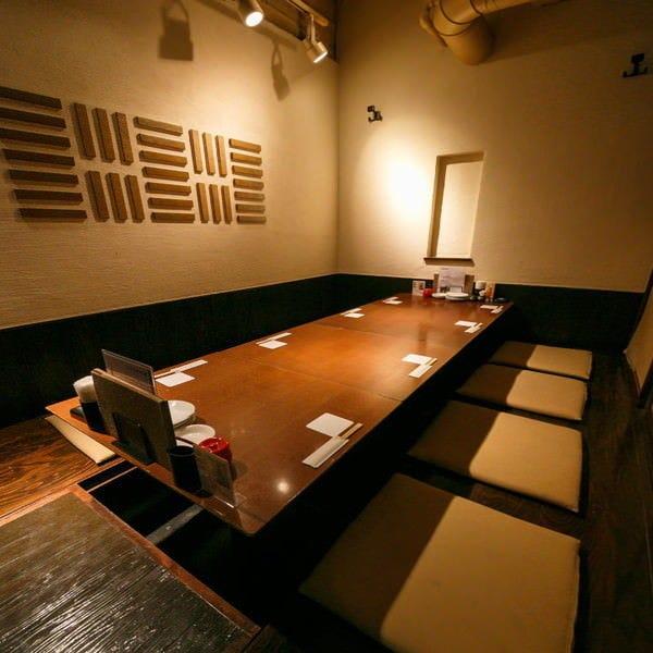 人気の掘りごたつ個室は全20席 他、テーブル個室もございます。