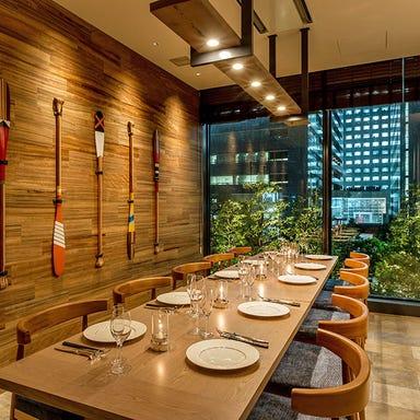 Los Angeles balcony Terrace Restaurant & Moon Bar 店内の画像