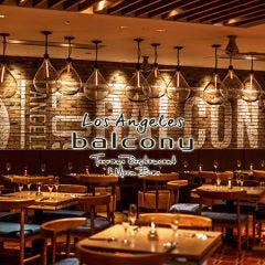 Los Angeles balcony Terrace Restaurant & Moon Bar