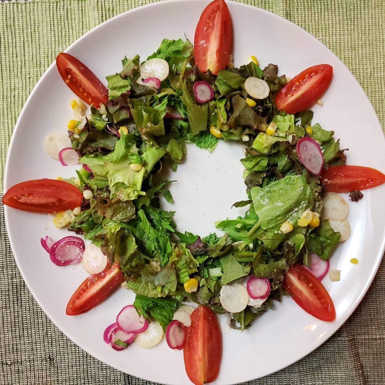 自家栽培の新鮮野菜