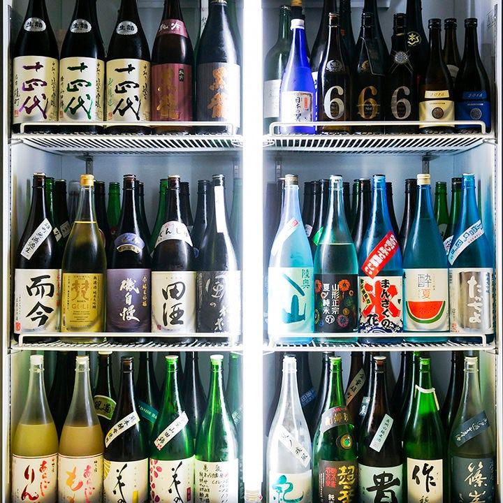 約100種!47都道府県の日本酒勢揃い