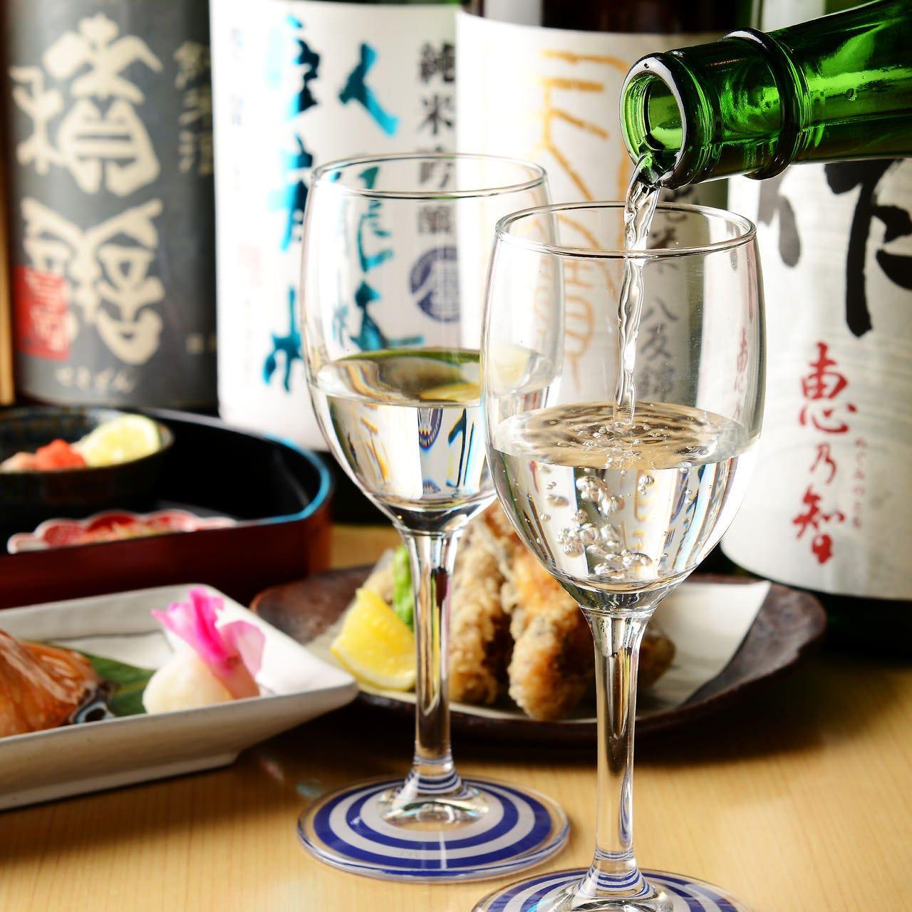 特別な夜は美味しい和食と日本酒で♪