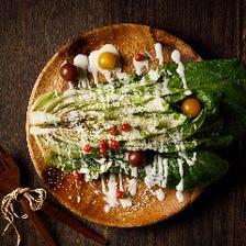 ロメインレタスのオーブンサラダ