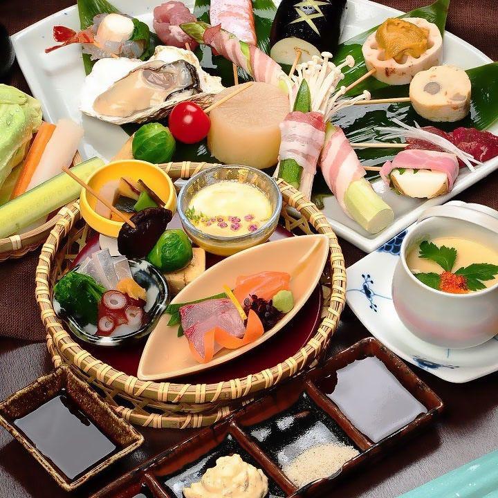 旬味で彩る歓送迎会♪名物料理も満載