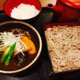 野菜たっぷり!スパイシーカレーつけ麺