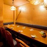 テーブル席半個室(~22名様)
