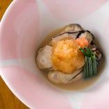 季節の牡蠣料理