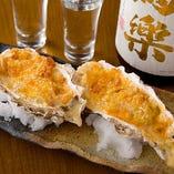 牡蠣オーブン焼き(ホワイトグラタン/香草ガーリックバター/トマトソース)