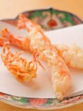 旬の食材に職人技を施した天ぷら