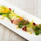 [新鮮素材!] 毎日届く横浜産の野菜など地の食材も多数使用!