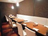 10~15名のプライベートなパーティーや主役のいる会に便利な半個室