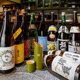 ◆お酒◆ 全国から取り寄せる厳選地酒を多彩にラインナップ
