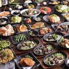 ◆大特価!食べ飲み放題◆平日限定!すき焼き含む100種以上120分食べ飲み放題コース3500円⇒2500円