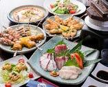 宴会もお任せください。旬な食材を使った料理をご提供します!