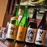 数多くの日本酒・焼酎をご用意しております!