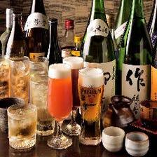 達人店認定生ビールや三重県産の地酒