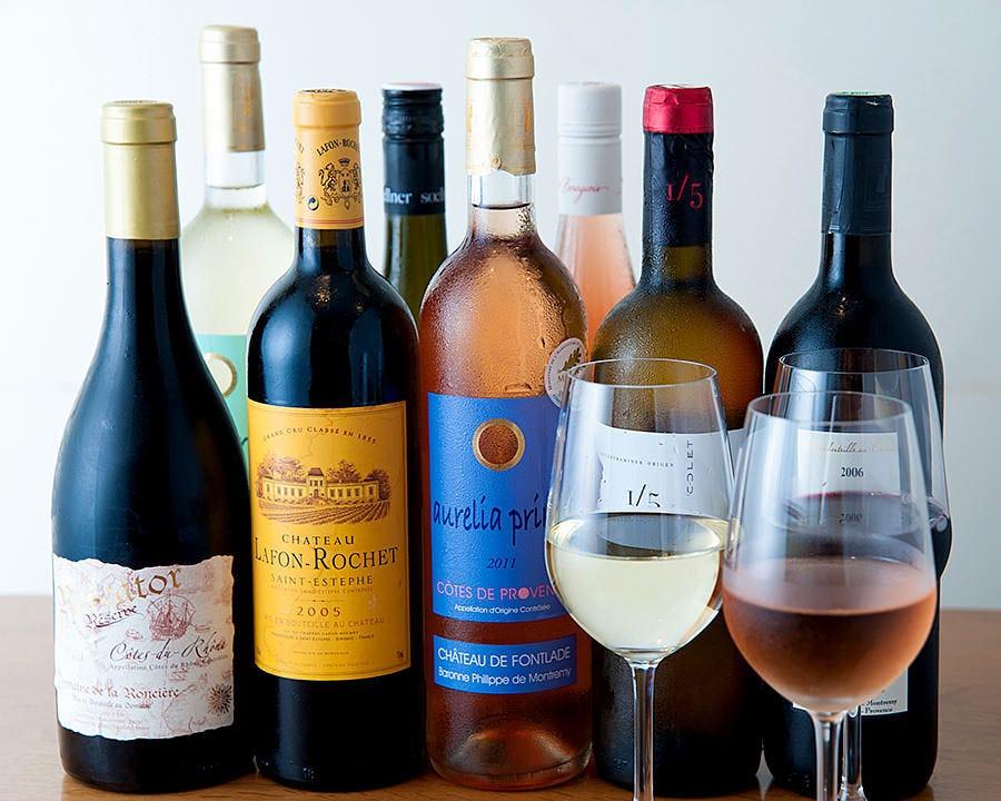 料理に合わせてワインをセレクト!