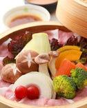 野菜があま~い!季節野菜とお肉のせいろ蒸し